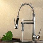 YDL-F-0528-Contemporary-High-Pressure-Chrome-Kitchen-Faucet-Silver
