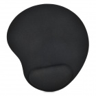 Wrist Support Cloth + EVA Mouse Pad for Computer - Black