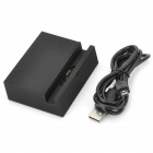 Convenient Charging Station + Data Sync / Charging Cable for LG Nexus 4 E960 - Black