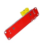 FR4 + Aluminum Alloy Electronic Slide Potentiometer Module for Arduino - Red + Black + Yellow
