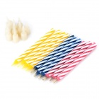 Magic Paraffin Relighting Candles -White + Multicolor (10PCS)