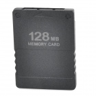 Plastic Memory Card for PS2 - Black (128MB)