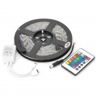 JRLED 72W 4500lm 300-SMD 5050 LED RGB Light Strip w/ 24 Keys Remote Controller (12V / 5m)
