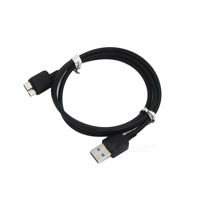 USB Male to USB 3.0 Micro USB B Type Male Cable for Samsung Note 3 / N9005 - Black