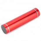 "5V ""3300mAh"" Micro USB Li-ion Battery Emergency Charging Battery w/ Cable - Black + Red"