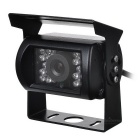 CAM-109-Universal-Waterproof-Wired-CMOS-Car-Rearview-Camera-w-18-IR-LED-Night-Vision-Black