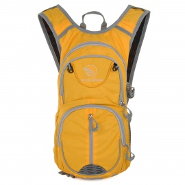 Locallion-Outdoor-Multi-function-Backpack-w-Water-Bag-Compartment-Yellow