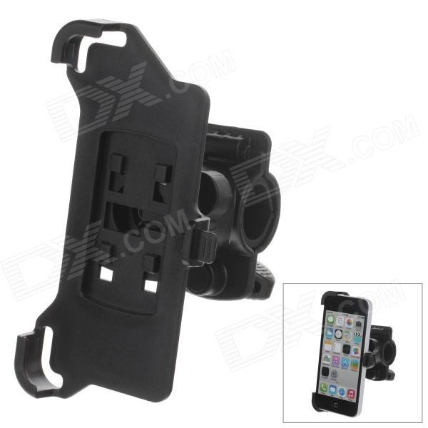 M01 360 Degree Rotation Bracket w/ Back Clamp for Iphone 5C - Black