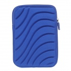 Protective Shock-Proof Water Resistant Nylon Case for 7 Inch Tablet PC - Blue