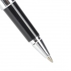 2-in-1 Black Gel Ink Pen + Capacitive Touch Screen Stylus - Black