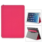 Protective-PU-Leather-2b-Plastic-Flip-Open-Case-w-Stylus-Dust-Plug-Stand-for-Ipad-AIR