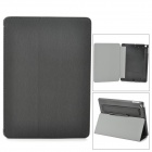 Protective Flip-Open PU Leather Case w/ Stand / Stylus Pen for Ipad AIR - Black