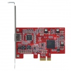 CMI PCI-E 1080P 2-Channel Capture Card - Red