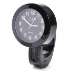 Handy Universal Handle Bar Mounted Chrome Plated Analog Quartz Watch for Motorcycle - (1 x LR626)