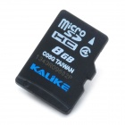 KALIKE MicroSD / TransFlash TF Memory Card - Black (8GB / Class 4)