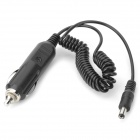 GYG001 Universal 3A Fuse Car Cigarette Lighter Powered DC 5.5 x 2.1mm Cable - Black + Silver