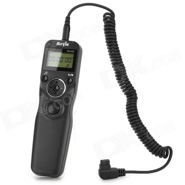 "MEYIN TW-830 1.2"" LCD Timer Remote Control for Sony / Konica Minolta Camera (2 x AAA Not Included)"
