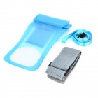 Universal Waterproof PVC Bag for iPhone / Samsung - Blue