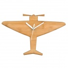 MB008 Airplane Style Wooden Wall Clock (1 x AA)