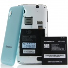 "Lenovo S720 MTK6577 Dual-Core Android 4.0.4 WCDMA Bar Phone w/ 4.5"" IPS, GPS - Black + Light blue"