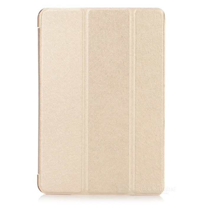 Protective PU Leather Case for IPAD MINI / Retina IPAD MINI - GoldenIpad Cases<br>Form  ColorGoldenQuantity1 DX.PCM.Model.AttributeModel.UnitMaterialPU leatherCompatible ModelsIPAD MINI 2(IPAD MINI WITH RETINA DISPLAY),IPAD MINI (1ST GENERATION)StyleFlip OpenAuto Wake-up / SleepYesOther FeaturesProtects your device from scratches, dust and shockPacking List1 x Protective case<br>