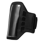 Stylish Neoprene + PVC Velcro Armband for IPHONE 5 / 5s / 5c - Black