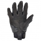 AXE 	ST-02B Motorcycle Cow Leather Sheepskin Warm Glove - Black (Size L)