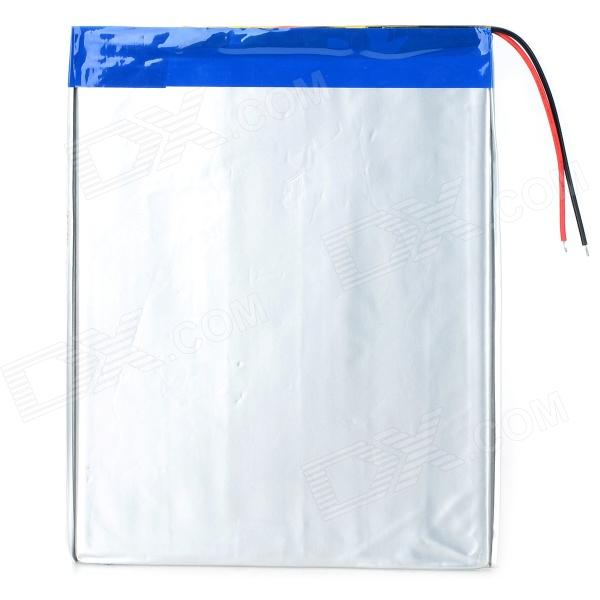 "Replacement 3.7V 7000mAh Li-ion Polymer Battery for 9.7~10.1"" Tablets - Silver"