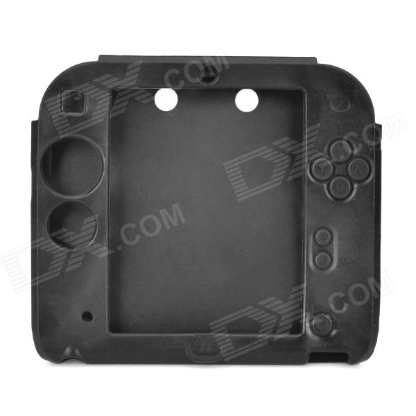check out 42c6f 69769 Protective Soft Silicone Case for Nintendo 2DS - Black