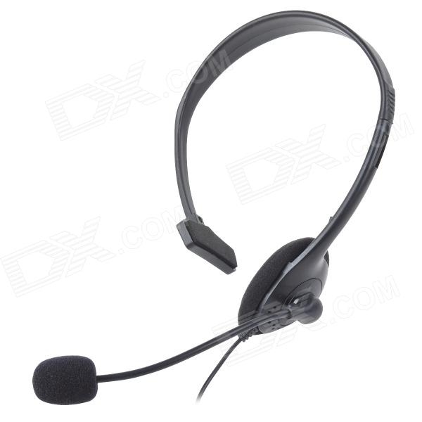 Wired Gaming Headset Earphone w/ MIC Volume Control for PS4 - BlackOther Accessories<br>Form  ColorBlackQuantity1 DX.PCM.Model.AttributeModel.UnitMaterialPlasticCompatible ModelsPS4Other FeaturesClear sound quality; With microphone mute switch, volume control keyPacking List1 x Wired earphone (130cm)<br>