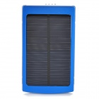 Solar-Powered-10000mAh-Power-Bank-w-3-Charging-Adapters-for-Cell-Phone-Tablet-PC-Blue
