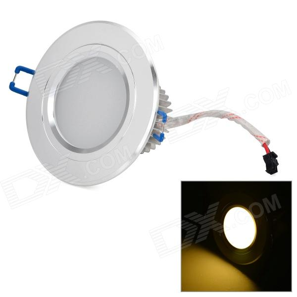 LetterFire 3W 210lm 3000K 3-LED Warm White Ceiling Lamp - Silver + White (AC 85~265V)