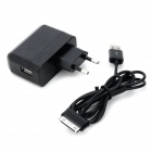 Convenient EU Plug Power Adapter + Data Cable for Samsung Galaxy Note 10.1 N8000 / N5100 / N5110