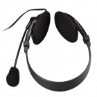 Feinier FE-169 Stylish Headphones w/ Microphone for PC / Laptop - Black (3.5mm Plug / 195cm-Cable)