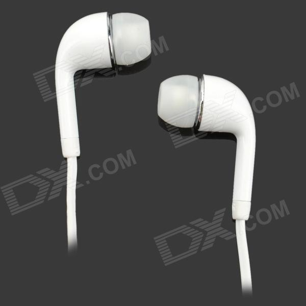 Buy S-What In-Ear Earphone w/ Mic. for Samsung Galaxy S4 i9500 - White with Litecoins with Free Shipping on Gipsybee.com