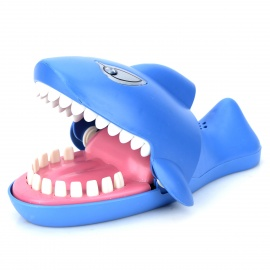 Cute Shark Style Music & Light Electronic Toy - Blue (L) (2 x AA)