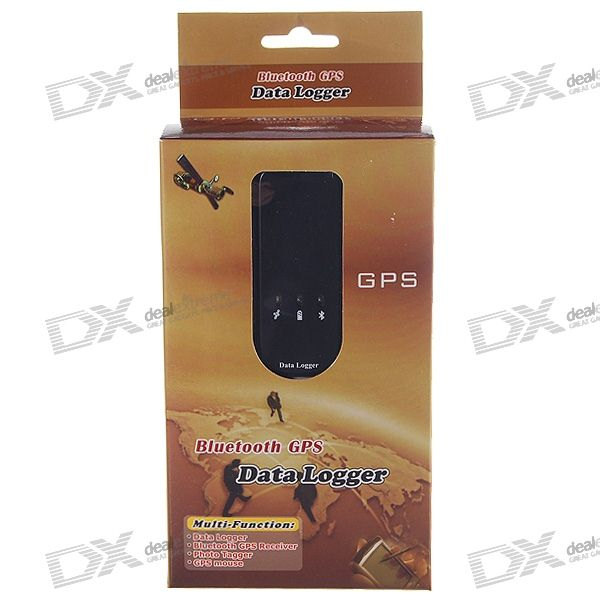 Mini Portable Bluetooth GPS Travel Recorder/Data Logger (100,000 Waypoints)