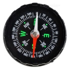 Stylish Fluid-filled Compass - Black + Green