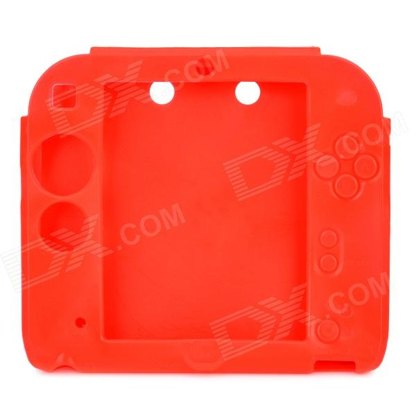 Stylish Protective Silicone Case for 2DS - RedCases &amp; Pouches<br>Form  ColorRedQuantity1 DX.PCM.Model.AttributeModel.UnitMaterialSiliconeCompatible ModelsOthers,2DSTypeBack CoversOther FeaturesProtects your device from scratches, dust and shockPacking List1 x Protective case<br>