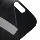 Newtop Privacy Protective Plastic Clear Screen Guard for Samsung Galaxy S4 i9500 - Black