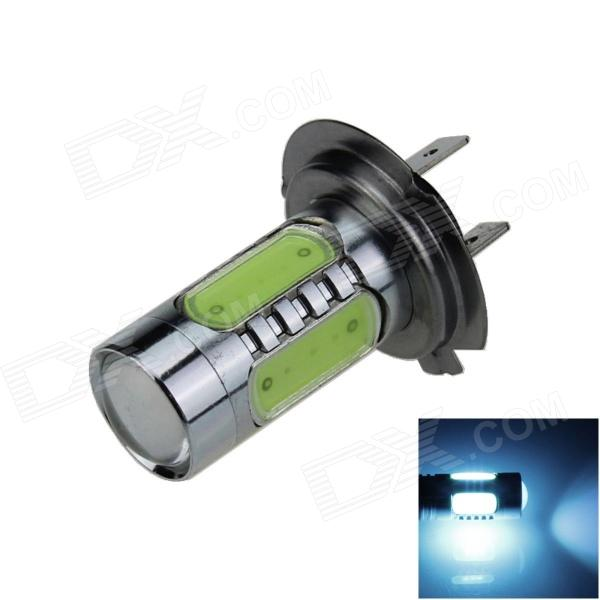 Buy H7 7.5W 400lm 5-LED Ice Blue Light Polarity Free Car Foglight / Headlamp / Tail Light - (12~24V) with Litecoins with Free Shipping on Gipsybee.com