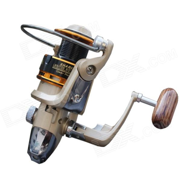 PX4000 8 Bearing Spinning Fishing Reel - Gray + Gold