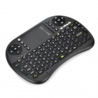 W-shark Wireless 2.4GHz USB Mini Keyboard - Black