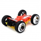 WLtoys 2308 Dual-Side 4-CH Remote Control Stunt Car - Red + Yellow