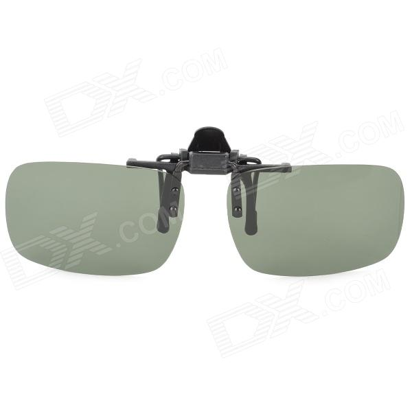 UVA Protection Polarized Resin Lens for Sunglasses - Dark Green