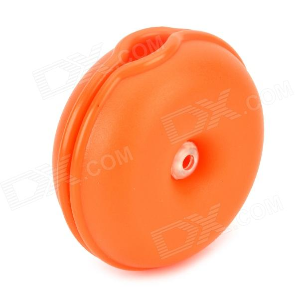 GEL14 Convenient Handy Earphone / Cable / Wire Winder Organizer - Orange