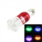 KINFIRE E27 3W LED RGB Light Lamp Bulb w/ Remote Controller - (AC 85~265V)
