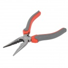 "HUAYU 2346 Multi-Function 6"" Needle-Nose Pliers - Red + Grey"