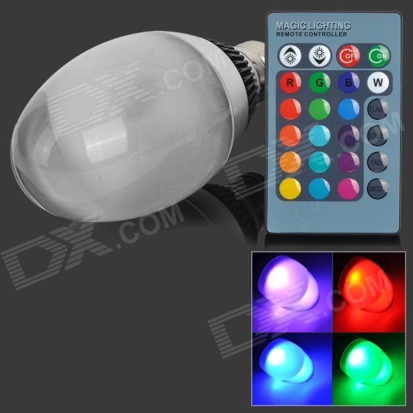 E27 10W 300lm RGB LED Dimmable Colorful Light Bulb (AC 85~265V)