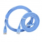 RJ45 Male to Male Networking Flat Cable - Blue (2 Meters / 2 PCS)